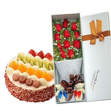 温馨怀抱 8寸蛋糕